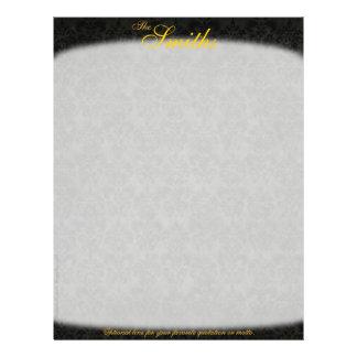 Dark Victorian Letterhead (2-Sided) 21.5 Cm X 28 Cm Flyer