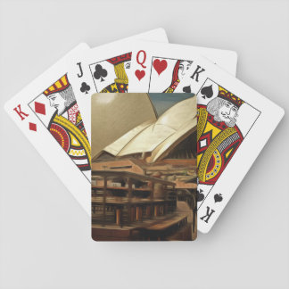 Dark view of the Sydney Opera House Playing Cards