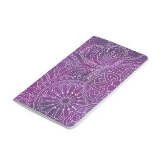 dark violet gradient zen pattern with sends them journal
