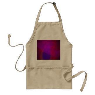 Dark Wine Simple Abstract Composition Aprons