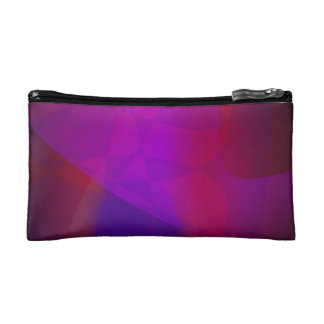 Dark Wine Simple Abstract Composition Makeup Bags