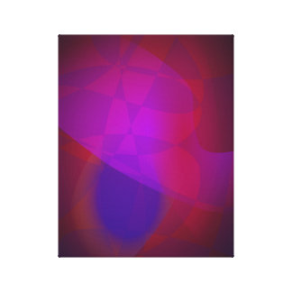 Dark Wine Simple Abstract Composition Stretched Canvas Prints