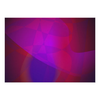 Dark Wine Simple Abstract Composition Invitation