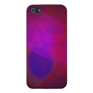 Dark Wine Simple Abstract Composition Cover For iPhone 5/5S