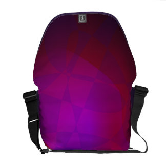 Dark Wine Simple Abstract Composition Messenger Bag