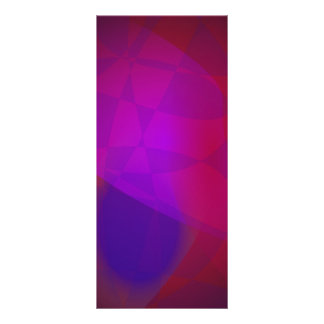 Dark Wine Simple Abstract Composition Customized Rack Card