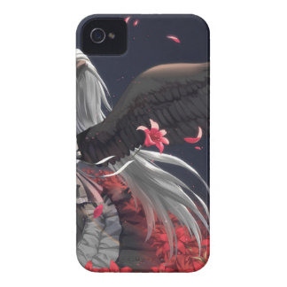 Dark Winged Angel iPhone 4 Cover
