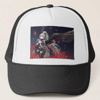 Dark Winged Angel Trucker Hat