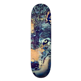 Dark Wolf Zero Element Custom Pro Park Board 19.7 Cm Skateboard Deck