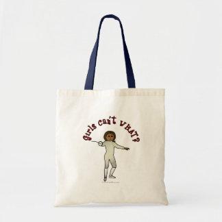 Dark Woman Fencing Bag