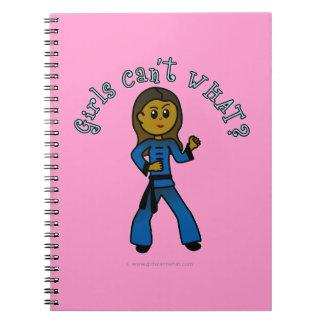 Dark Womens Kung Fu Notebooks