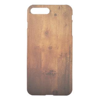 Dark Wood Grain Woodgrain Wood Look Pattern iPhone 7 Plus Case