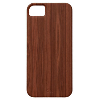 Dark Wood iPhone 5 Case