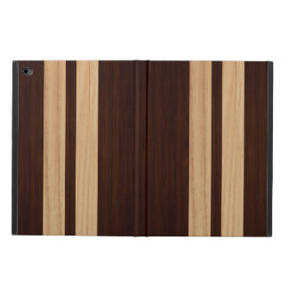 Dark Wood Rosewood Stripes - Wood Grain Look