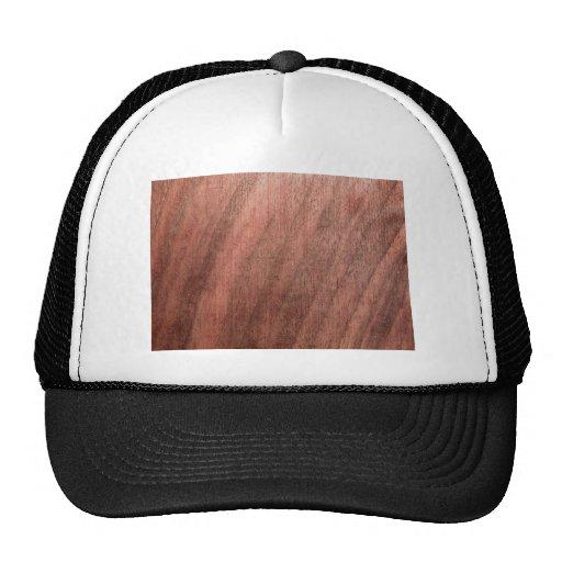 Dark Wood Texture Hats