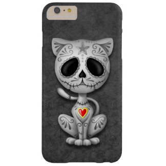 Dark Zombie Sugar Kitten Barely There iPhone 6 Plus Case