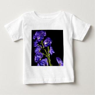 Darken purple blooms baby T-Shirt