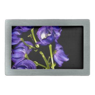 Darken purple blooms belt buckle