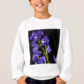 Darken purple blooms sweatshirt