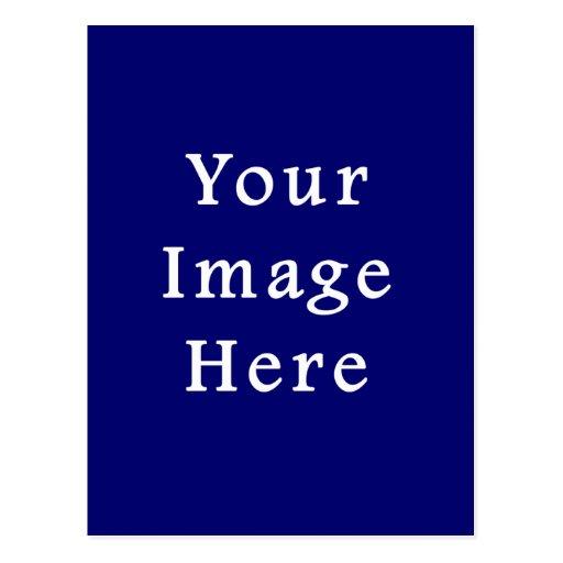 Darkest Blue Hanukkah Chanukah Hanukah Template Post Card