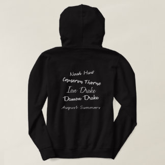 Darkest Days by Athena Wright Hoodie Black