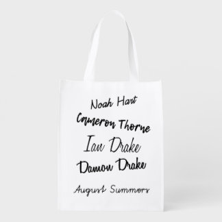 Darkest Days by Athena Wright Reusable Bag