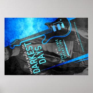Darkest Days by Athena Wright World Tour Poster