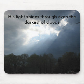 Darkest of Clouds Mouse Pad