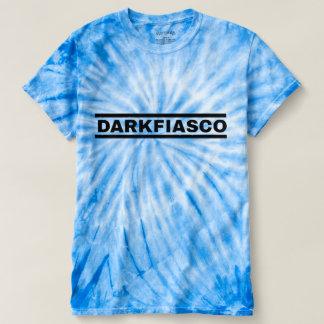 Darkfiasco Blue Tie Die T-Shirt