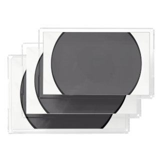DarkGrey Dot Acrylic Tray