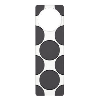 DarkGrey Dot Door Hanger