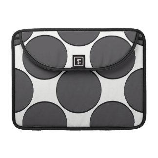 DarkGrey Dot Sleeve For MacBooks