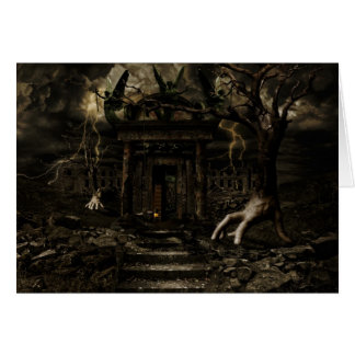 Darkhouse Door Card