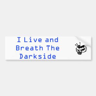 darkness collection bumper sticker
