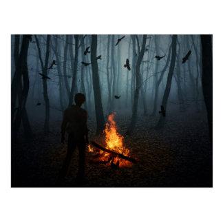 Darkness Falls Postcard