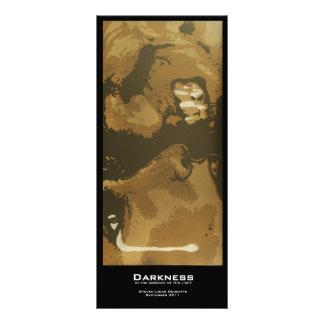 """Darkness"" Value Bookmarks Rack Card"