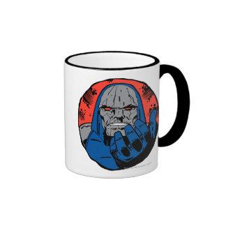Darkseid  Head Shot 2 Ringer Mug