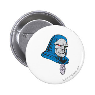 Darkseid Head Shot 6 Cm Round Badge