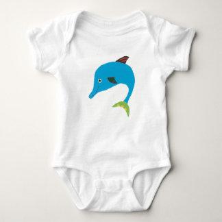 Darla the Dolphin Baby Bodysuit