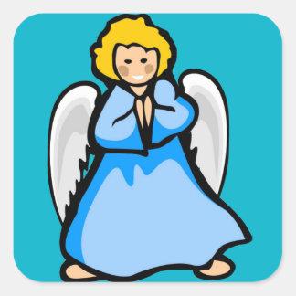 Darling Angel Square Sticker