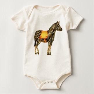 Darling Circus Zebra Baby Bodysuit