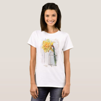 Darling Daffodil - New Balance T-Shirt, White T-Shirt