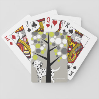 Darling Dalmation Playing Cards