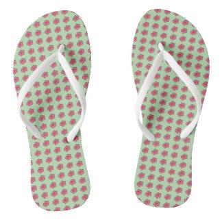Darling-Dasies_Pink-Lime(c)Multi-Styles_Colors Thongs