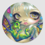 """Darling Dragonling IV"" Sticker"