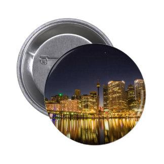 Darling Harbour, Sydney 6 Cm Round Badge