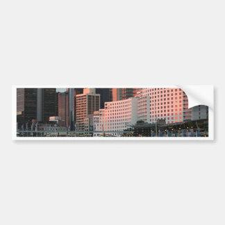 Darling Harbour, Sydney, sunset, Australia Bumper Sticker