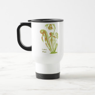Darlingtonia californica, Carnivorous Plant Travel Mug