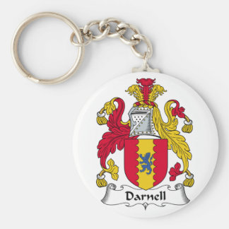 Darnell Family Crest Key Ring
