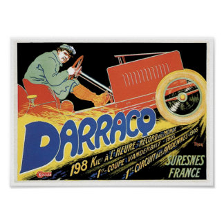 Darraco Automobile Poster